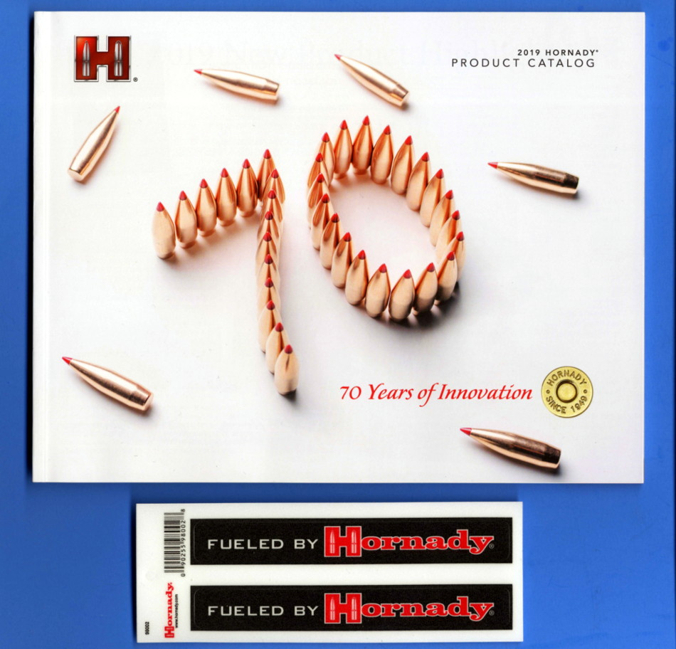 Details about HORNADY Product Catalog + HORNADY DECAL